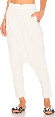Raquel Allegra , Cropped Slouchy Pant
