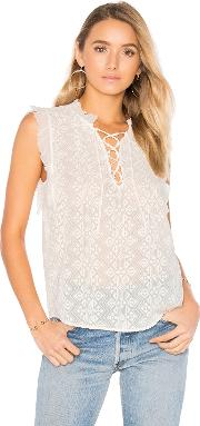 Rebecca Taylor , Sleeveless Florence Embroidered Top