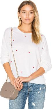 Sundry , Little Hearts Cashmere Sweater