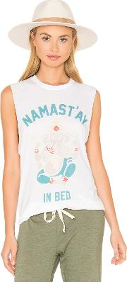 The Laundry Room , Namastay In Bed Muscle Tee