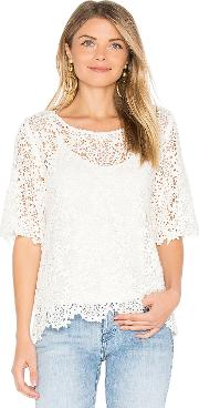 Velvet By Graham & Spencer , Colleen Lace Top