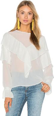 Endless Rose , Ruffle Blouse