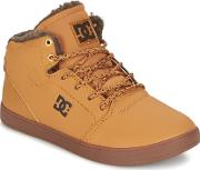 Dc Shoes , Crisis High Wnt Girls's Shoes (high-top Trainers) In Beige
