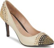 Lola Cruz , Mayfair Women's Court Shoes In Beige