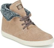 Victoria , 6794 Women's Shoes (high-top Trainers) In Beige