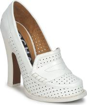Rochas , Ro18031 Women's Court Shoes In White