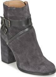 Castaner , Carla Women's Low Ankle Boots In Grey