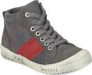Citrouille Et Compagnie , Frandol Boys's Shoes (high-top Trainers) In Grey