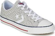 Converse , Star Player Core Canv Ox Women's Shoes (trainers) In Grey