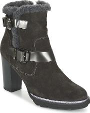 Fericelli , Faika Women's Low Ankle Boots In Grey