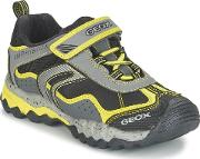 Geox , J Mountain B Abx Girls's Shoes (trainers) In Grey