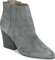 Hudson , Meli Suede Women's Low Ankle Boots In Grey