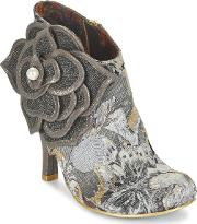 Irregular Choice , Pearl Necture Women's Low Boots In Grey