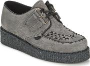 Underground , Wulfrun Suede Women's Casual Shoes In Grey
