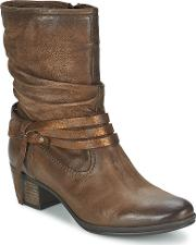 Dream In Green , Anna Women's High Boots In Brown