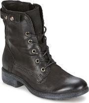 Dream In Green , Naim Women's Mid Boots In Black