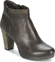 Dream In Green , Zafer Women's Low Ankle Boots In Brown