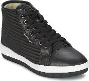 United Nude , Jump Women's Shoes (high-top Trainers) In Black