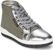 United Nude , Jump Women's Shoes (high-top Trainers) In Grey