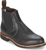 Red Wing , Chelsea Rancher Men's Low Ankle Boots In Black