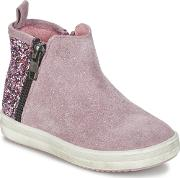 Acebos , Acebo's Manalie Girls's Mid Boots In Pink