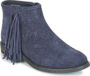 Acebos , Acebo's Martie Girls's Mid Boots In Blue