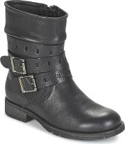 Acebos , Acebo's Mastiquie Girls's Mid Boots In Black
