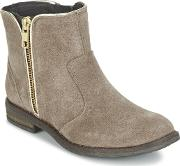 Acebos , Acebo's Momunie Girls's Mid Boots In Grey