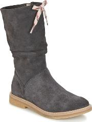Acebos , Acebo's Shara Girls's High Boots In Grey