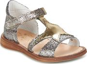 Acebos , Acebo's Soko Girls's Sandals In Gold