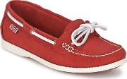 Aigle , Americasual W Women's Loafers  Casual Shoes In Red