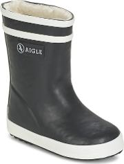 Aigle , Baby Flac Fur Girls's Wellington Boots In Blue