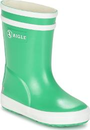 Aigle , Baby Flac Girls's Wellington Boots In Green