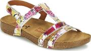 Art , I Breathe Women's Sandals In Pink