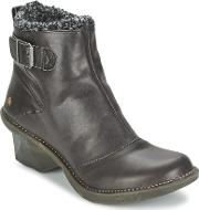 Art , Oteiza Re Women's Low Ankle Boots In Black