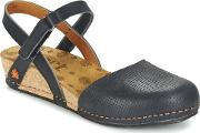 Art , Pompei Women's Sandals In Black