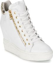 Ash , Atomic Women's Shoes (trainers) In White