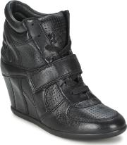 Ash , Bowie Women's Shoes (high-top Trainers) In Black