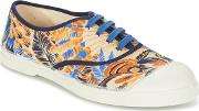 Bensimon , Tennis Pencil Flowers Women's Shoes (trainers) In Yellow
