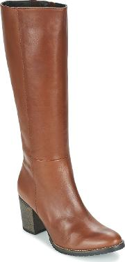 Betty London , Isme Women's High Boots In Brown
