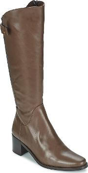 Betty London , Normandia Women's High Boots In Brown
