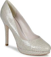 Bourne , Agnes Women's Court Shoes In White