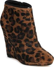 Bourne , Fonatol Women's Low Ankle Boots In Brown