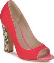 Bourne , Francesca Women's Court Shoes In Pink
