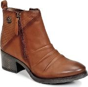 Bugatti , Goopalio Women's Low Ankle Boots In Brown