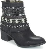 Bullboxer , Belvodou Women's Low Ankle Boots In Black