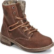Bullboxer , Boulime Girls's Mid Boots In Brown