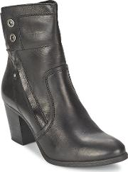 Bullboxer , Timber Women's Low Ankle Boots In Black