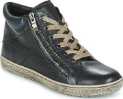 Caprice , Manou Women's Shoes (high-top Trainers) In Black