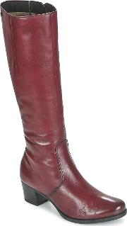 Caprice , Sevalo Women's High Boots In Red